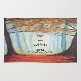 He is with you Rug