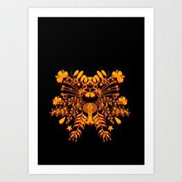 A Crown Art Print