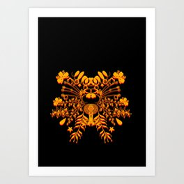 A Crown Art Print