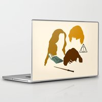 wizard Laptop & iPad Skins featuring Wizard Trio by Mars