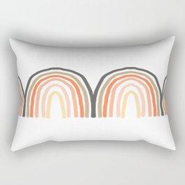 Rainbow Shadow Rectangular Pillow