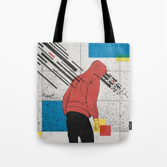 Discharge Tote Bag