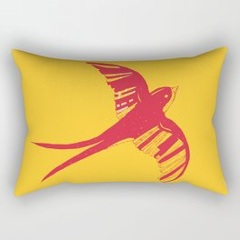 Swallow Rectangular Pillow