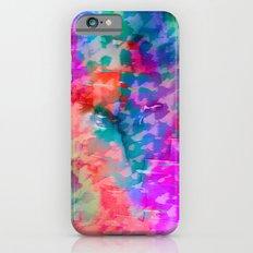 Rainbow Leopard iPhone 6s Slim Case