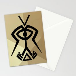 Twin Souls Merge Stationery Cards