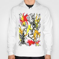 dragons Hoodies featuring Dragons by Ruthy Sarwal