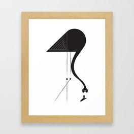 flamencos Framed Art Print