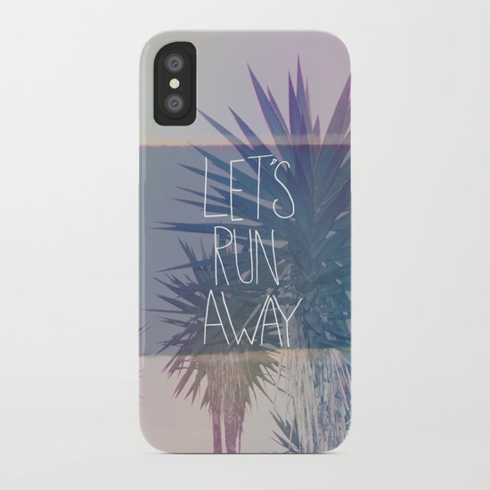 Let's Run Away: Monte Verde, Costa Rica iPhone Case