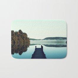 Gloomy dock Bath Mat