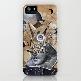 SHAKESPEARE AS AN ABSTRACT CONCEPT iPhone Case