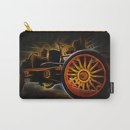 Fractal car vintage car2 Carry-All Pouch