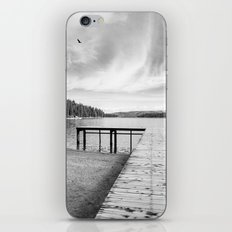 Dock on Lake iPhone & iPod Skin