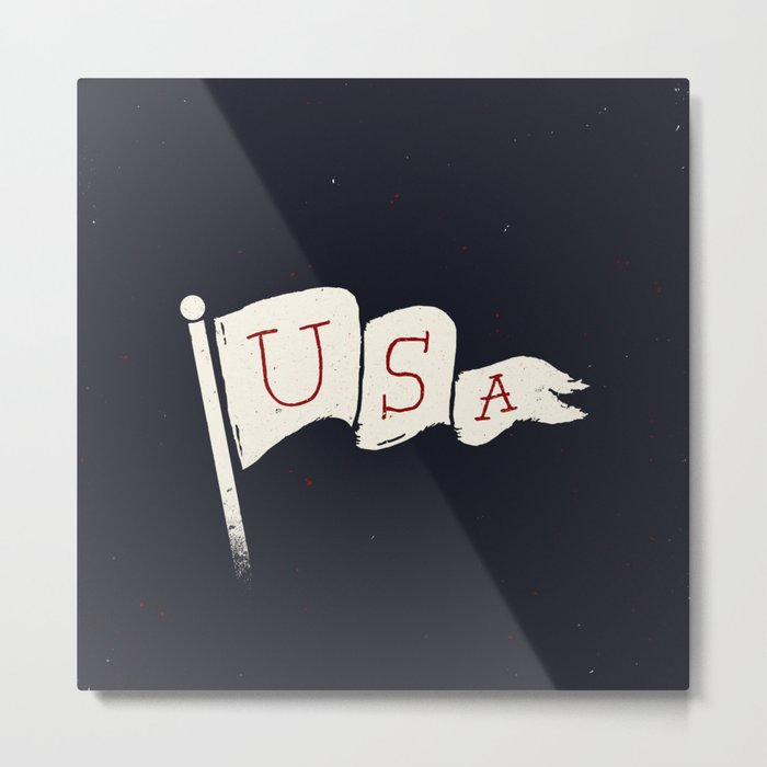 USA Pride Metal Print
