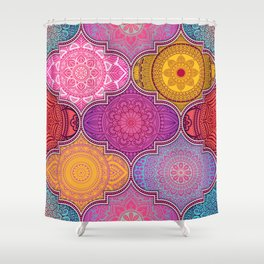 Bright Color Shower Curtains