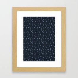 Six of Crows pattern Framed Art Print