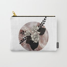 Ruffled Magnolias Carry-All Pouch