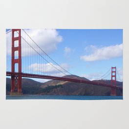 Golden Gate Bridge San Francisco Ca Rug