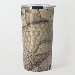 The Golden Fish (1) Travel Mug
