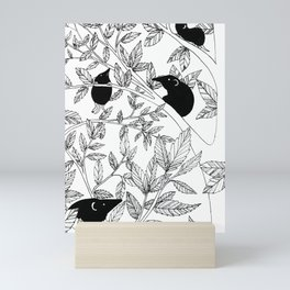 Ashes Mini Art Print