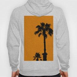 Palm trees on tangerine Hoody