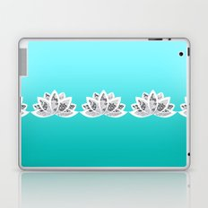 blue lotus Laptop & iPad Skin