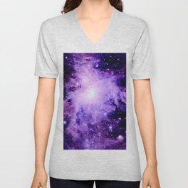 Orion nebUla. : Purple Galaxy Unisex V-Neck