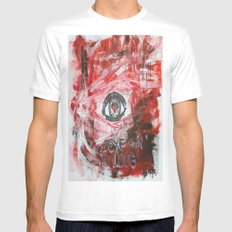Eye am in love White Mens Fitted Tee MEDIUM