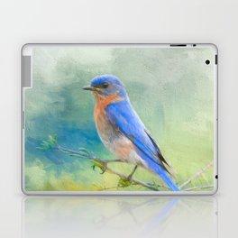 Bluebird In The Garden Laptop & iPad Skin