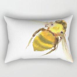 Bee, bee art, bee design Rectangular Pillow