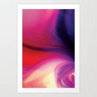 Cerise Art Print