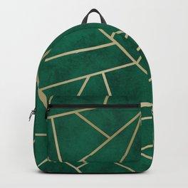 Emerald Art Deco Backpack