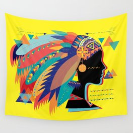 Native Indian Wall Tapestry