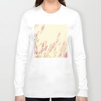lavender Long Sleeve T-shirts featuring Lavender by Ana Guisado
