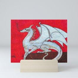 Scorched. Dragon Mini Art Print