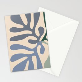 Matisse cutouts abstract drawing, Stationery Cards