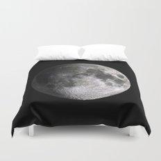 The Full Moon Super Detailed Print Duvet Cover