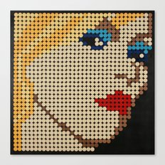 Queen of New Wave Canvas Print