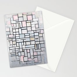 Piet Mondrian - Composition No.IV, 1914 Stationery Cards
