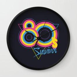 80's Survivor Wall Clock