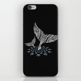 Tahlequah and her Calf iPhone Skin