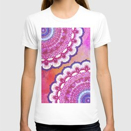 Colorful Watercolor Mandala T-shirt