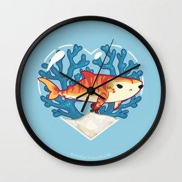 CHOMP the Tiger Shark Wall Clock