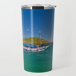Boat ride in Buzios, Rio de Janeiro (Brasil) Travel Mug