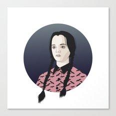 Wednesday Addams Canvas Print
