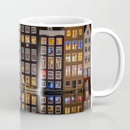 Dutch Canal houses in Amsterdam Coffee Mug