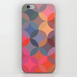 Moroccan pattern multicolor iPhone Skin