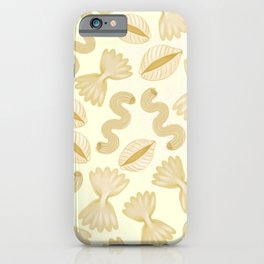 Pasta for dinner iPhone Case