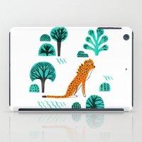 jaguar iPad Cases featuring  Jaguar by Hui_Yuan-Chang