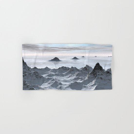 Frozen Arctic Sea Hand & Bath Towel