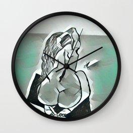 Cold Beauty Wall Clock